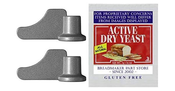 Amazon.com: Par de nuevo palas de amasar para Breadman ...