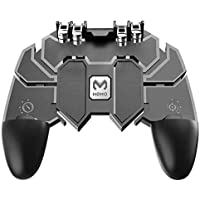 AK66 Six Finger All-in-One Mobile Game Controller Free Fire Key Button Joystick Gamepad L1 R1 Trigger for PUBG by Sami