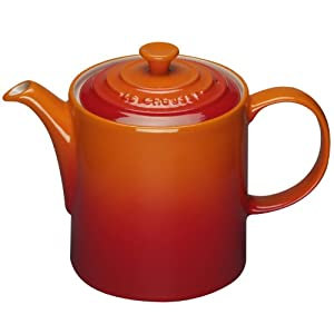 le creuset stoneware grand teapot 1 3 l volcanic kitchen home. Black Bedroom Furniture Sets. Home Design Ideas
