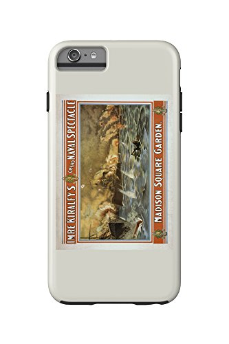 Grand Naval Spectacle Madison Square Garden Poster (iPhone 6 Plus Cell Phone Case Cell Phone Case, - Square Spectacles