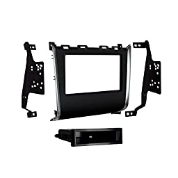 Metra 99-7626HG Single/Double DIN Dash Kit for 2013 and Nissan Pathfinder (Black)