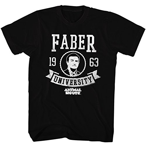 Hommes House Black T Faber Animal Pour shirt 6nfHwZq