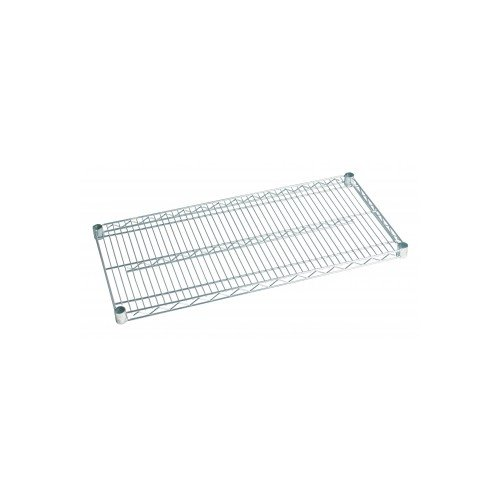 Focus Foodservice FF2424WRSS Stainless Steel Wire Shelf, 24'' x 24'' Shelf Size, 800lbs Capacity