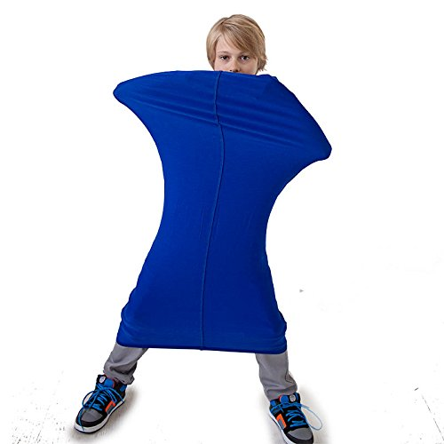 Crawl-and-Calm Resistance Tunnel for Spatial Exploration and Sensory Therapy for Children with ADHD, Autism and SPD