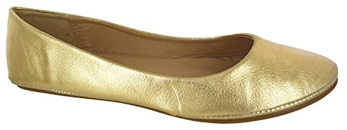 24f50e5675541 Other Ladies Black Red White Silver Gold Flat Ballet Ballerina Pump Dolly  Work Shoe 3-8 - Buy Online in Oman. | Other Products in Oman - See Prices,  ...