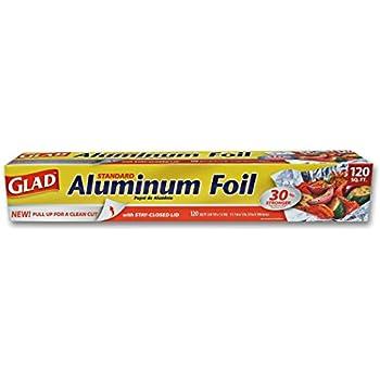 Glad Kitchen Aluminum Foil, 120 Square Foot