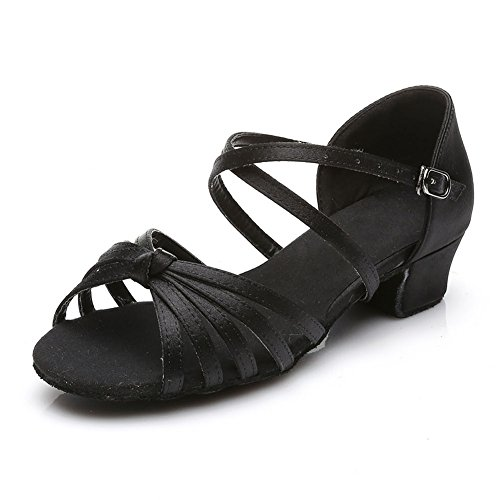 Image of Jfkstore Girls Latin Salsa Dance Shoes Ballroom (Little/Big Kid)