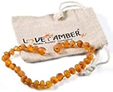 Adult Bees Knees Raw Honey Baltic Amber Anklet