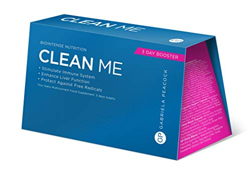 Gabriela Peacock Nutrition Clean Me | 3 Day Booster Kit | Supports and Defends Immunity | Liver Cleanse Plan | THC Detox…
