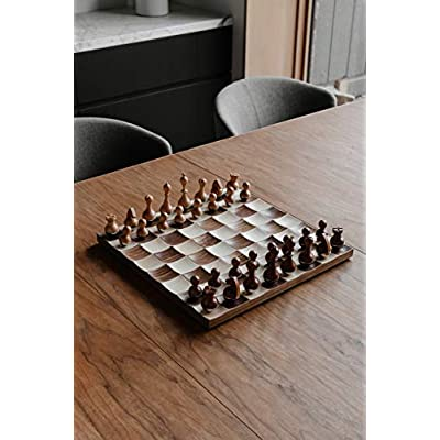 Umbra Wobble Chess Set, Brown: Home & Kitchen