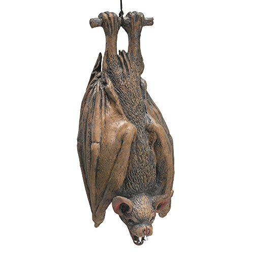 Bristol Novelty HI124 Hanging Bat, Brown, One - Hanging Vampire Bat