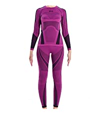 Bison Seamless Knit Winter Thermal 2 Pieces Base Layer Set, Bamboo Fiber, Antibacterial, Deodorant for Men, Women, and Kids