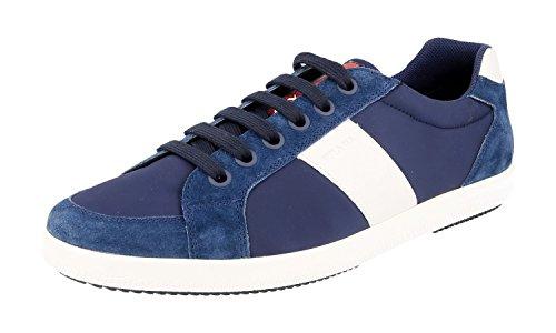 Sneaker In Pelle Prada Mens 4e2845 Oqt F0021