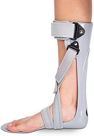 GHzzY Férula de Soporte para pie caído - Soporte para ortesis de pie y Tobillo - Soporte AFO para caída de pie, Fascitis Plantar y tendinitis de Aquiles,Left,S