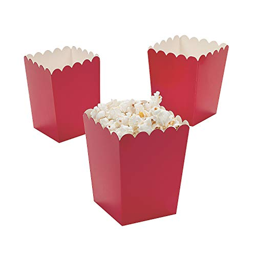 Mini Popcorn Boxes - Red - Teacher Resources & Birthday Supplies - 2 dozen]()
