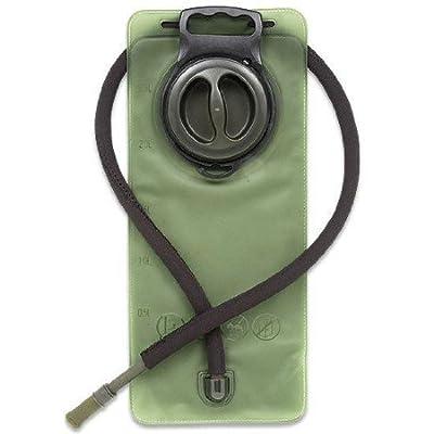 Ultimate Arms Gear Black Lightweight Tactical Hunting Vest w/ LEFTY LEFT Handed Pistol Holster + 2.5 Liter Hydration Backpack Water Bladder Reservoir Hosing And Hands Free Bite Valve