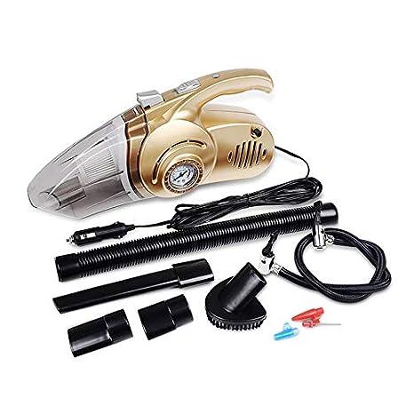 Aspirador 4 en 1, Limpiador portátil de Doble Uso y compresor de Aire de Alta