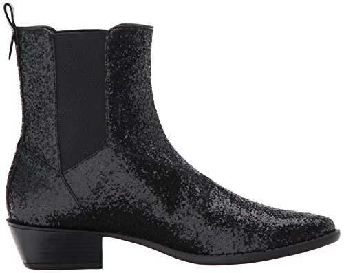 Katy Perry Womens The Ziggy Ankle Boot Black Glitter IRbar