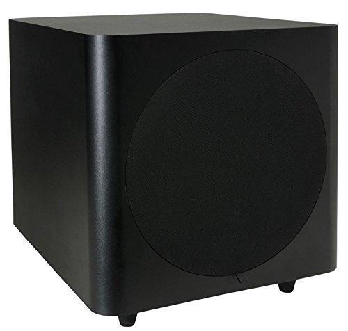 Dayton Audio SUB-800 8-Inch 80 Watt Powered Subwoofer (Black) by Dayton Audio [並行輸入品] B010EINWJ8