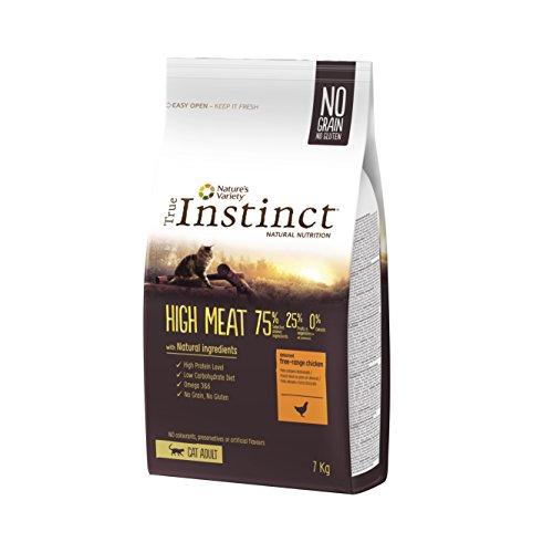True Instinct High Meat Adult – Nature's Variety – Pienso para Gato Adulto con Pollo – 7kg