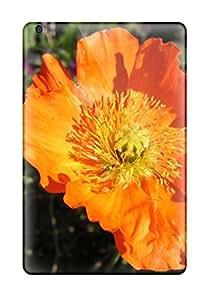 Poppy Flower Durable Ipad Mini 3 Tpu Flexible Soft Case