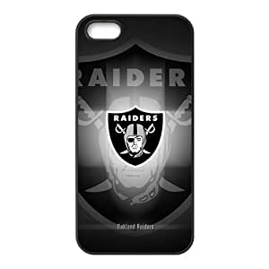 HDSAO Raiders Logo Fashion Comstom Plastic case cover For Iphone 5s
