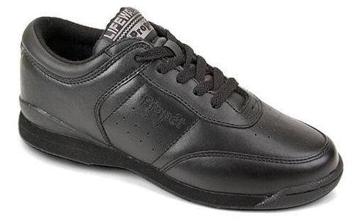 Propet Womens Washable Walker Shoe (Propet Women's W3804 Life Walker Sneaker,Black,8 M (US Women's 8)