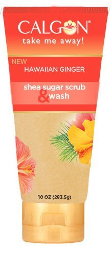 (Calgon Hawaiian Ginger Exfoliating Scrub)