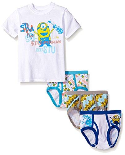 Universal Boys Minions 3pk Underwear and Tank Set