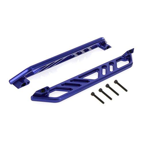 Traxxas X-Maxx Alloy Nerf Bar Chassis - 2pcs, Blue by Atomik RC - TRX 7723