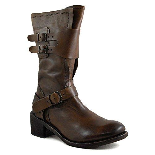Gee Wawa Footwear Women's Jasmine Tan/Black 8 M