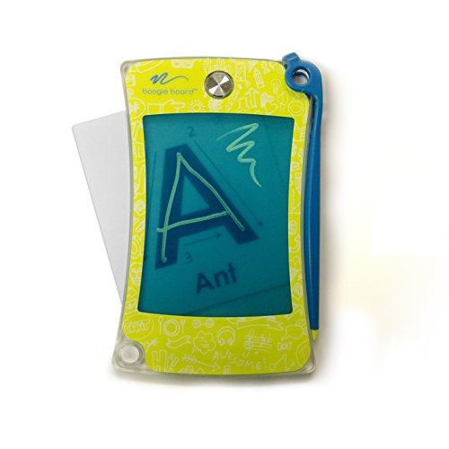 Yellow Boogie Board (Boogie Board Writing Drawing Tracing Flash Cards : Clear View by Tablet with Kids Stylus Pen for Learning to Draw, Write Letters, Trace, Sketch, Play)