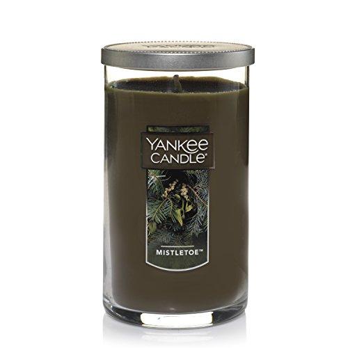 Yankee Candle Medium Perfect Pillar Candle, Mistletoe
