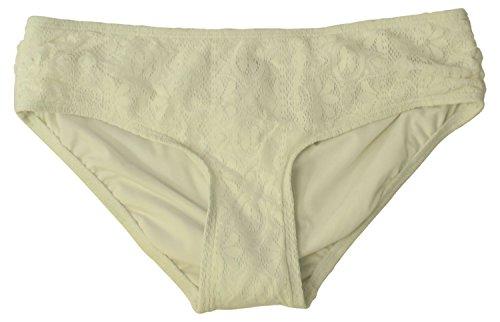 Reef Hipster Bottom - Coco Reef Women's Side Shirred Bikini Bottom White Large