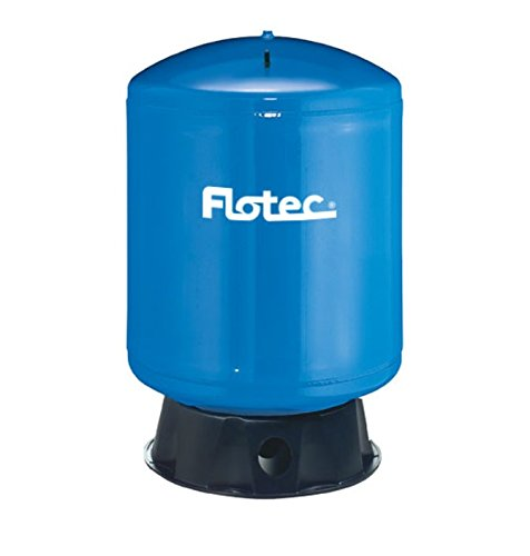 (Flotec FP7110T Vertical Pre-Charged Pressure Tank, 19 Gal, 1 In Npt, 100 Psi, Port)