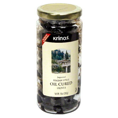Krinos Olive Cured In Oil