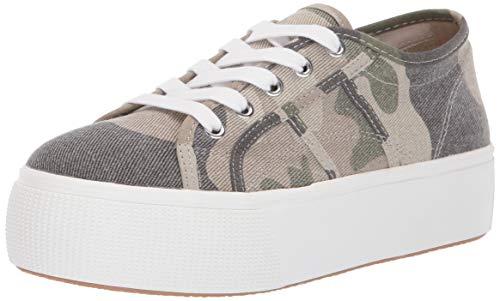 Steve Madden Women's EMMI Sneaker, Camouflage, 6.5 M ()