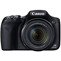 Canon SX530-CR 16.0 MP PowerShot CMOS Digital Camera with 50x Optical Image Stabilized Zoom (24-1200mm) and 3-Inch LCD HD 1080p Video, Certified Refurbished - Black