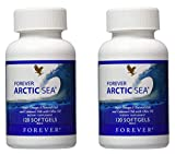 Forever Living Arctic Sea, Pack of 2 (240 softgels)