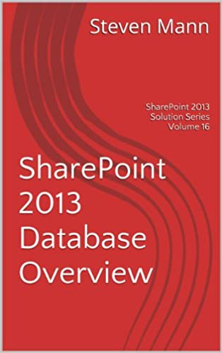 Forum di download di ebook SharePoint 2013 Database Overview