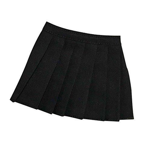 [해외]Jili 온라인 16 여성 미니 스커트 블랙 드레스 바지 12 인치 액션 피겨 액세서리 / Jili Online 16 Female Mini Skirt Black Dress Pants 12 inch Action Figure Accessories