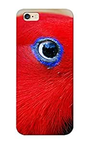 Durable Case For The Iphone 6 Plus - Eco-friendly Retail Packaging(red Parrot )