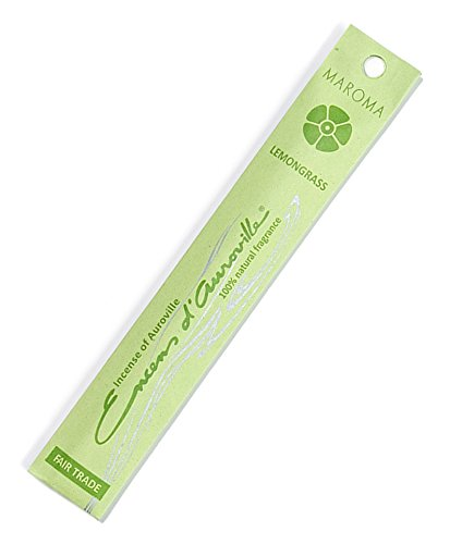 Maroma EDA Incense, Lemongrass, 10 Count