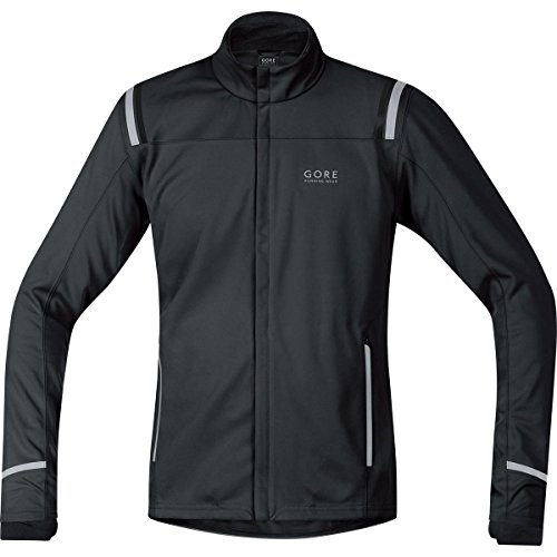 Gore Running Wear Mythos 2.0 Windstopper Softshell Jacket - Men's Black Small by Gore