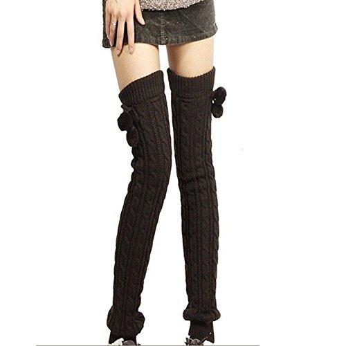 Ieasysexy Women Ladies Winter Fashion Leg Warmers Stockin...
