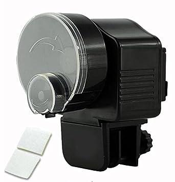 BW Alimentador automático para tanque de acuario Electrónico con temporizador: Amazon.es: Productos para mascotas