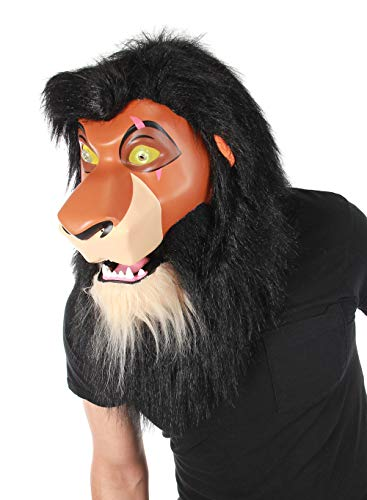 elope Lion King Scar Mouth Mover Mask Orange]()