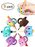 JARLINK 6 Pack Pencil Grips for Kids