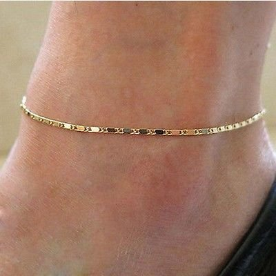 women-gold-plated-anklet-chain-bracelet-barefoot-sandal-beach-foot-jewelry