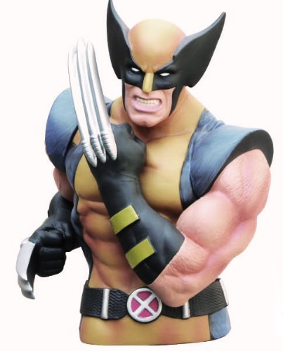 Wolverine Masked Bust Bank (Collectible Bust)
